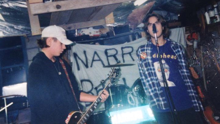Me jamming with Tom Harris circa 1994
